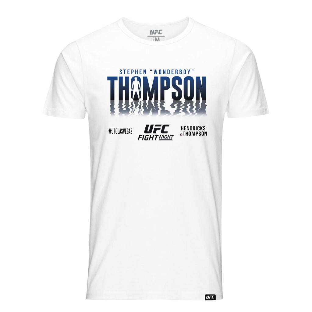 "Stephen ""Wonderboy"" Thompson Shadow T-Shirt -White"