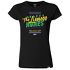 "Men's UFC Amanda ""The Lioness"" Nunes Double Champ Crest T-Shirt - Black"