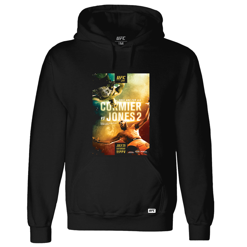 UFC 214 Cormier vs. Jones 2 Event Hoodie-Black