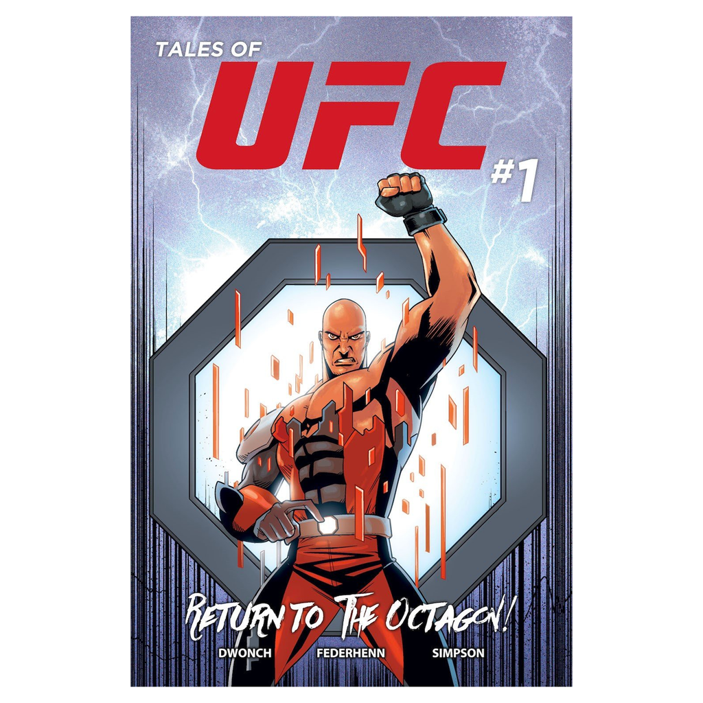 Tales of UFC Edition #1 Return To The Octagon Comic Book