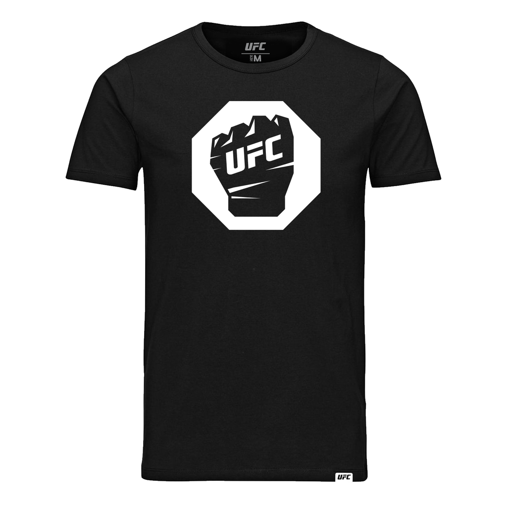 UFC Octagon Glove Fist T-Shirt-Black
