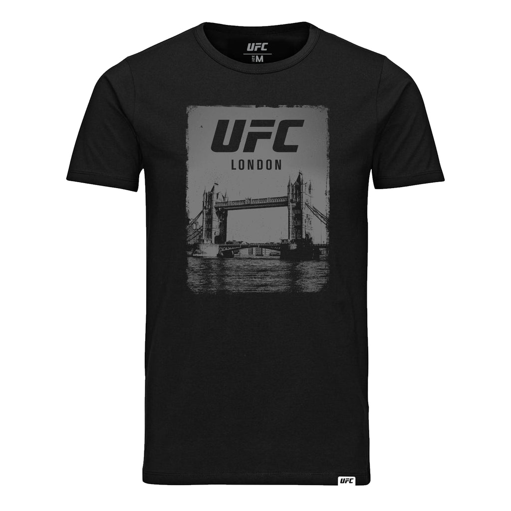 UFC Fight Night London Icon Kids T-Shirt- Black