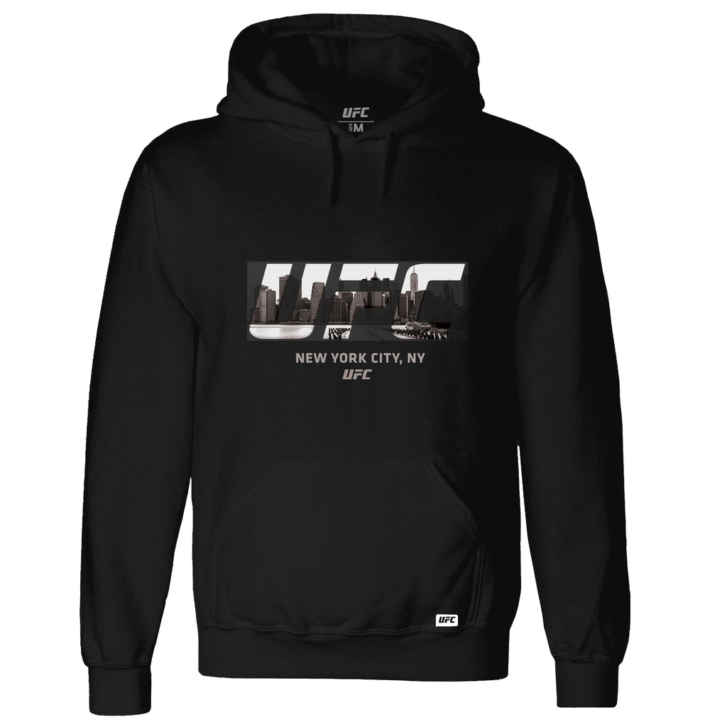 UFC New York Skyline Hoodie- Black