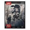 "UFC Fight Night 99 Mousasi vs. Hall 2 Belfast Autograph Event Posters 27"" x 39"""