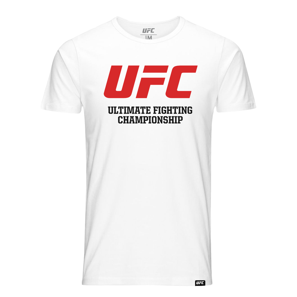 UFC  Ultimate Fighting Championship  T-Shirt-White
