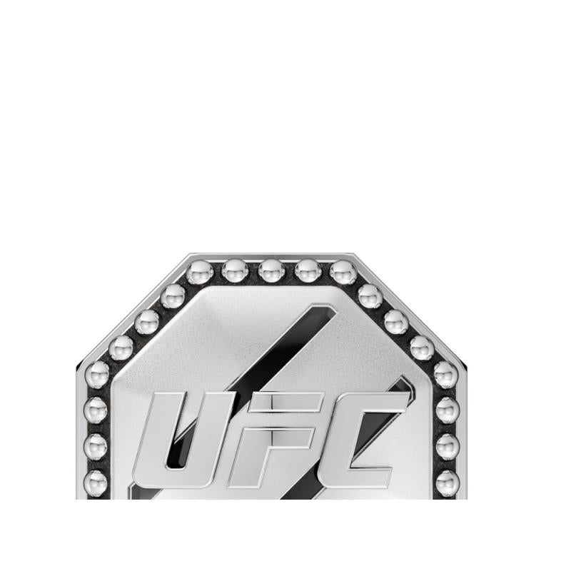 UFC Octagon Studded Pin in Sterling Silver