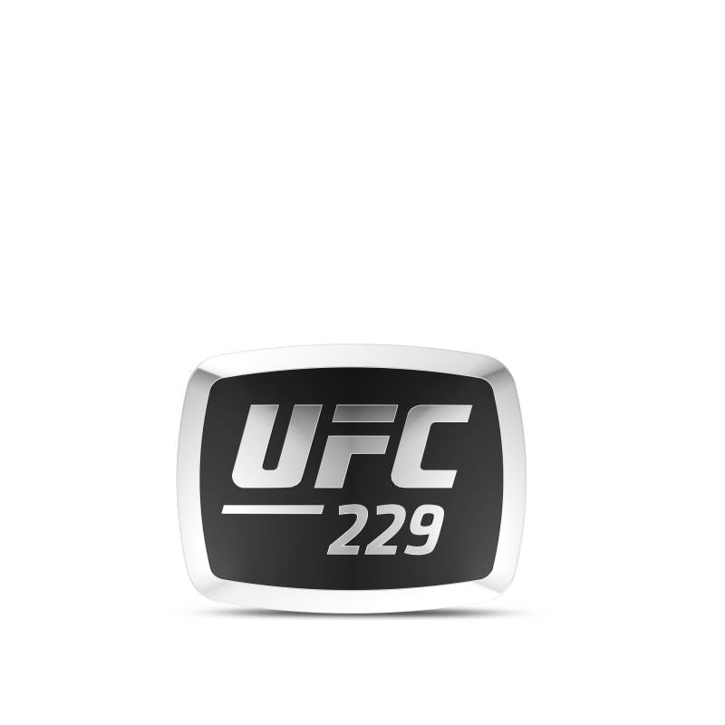 UFC 229 Pin in Sterling Silver
