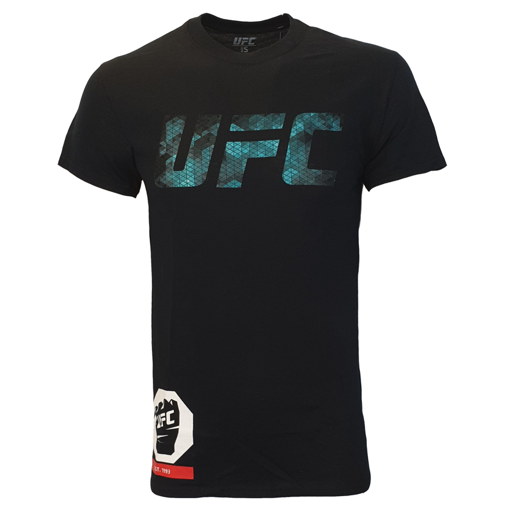 Men's UFC Octagon Cage Graphic Tee - Black