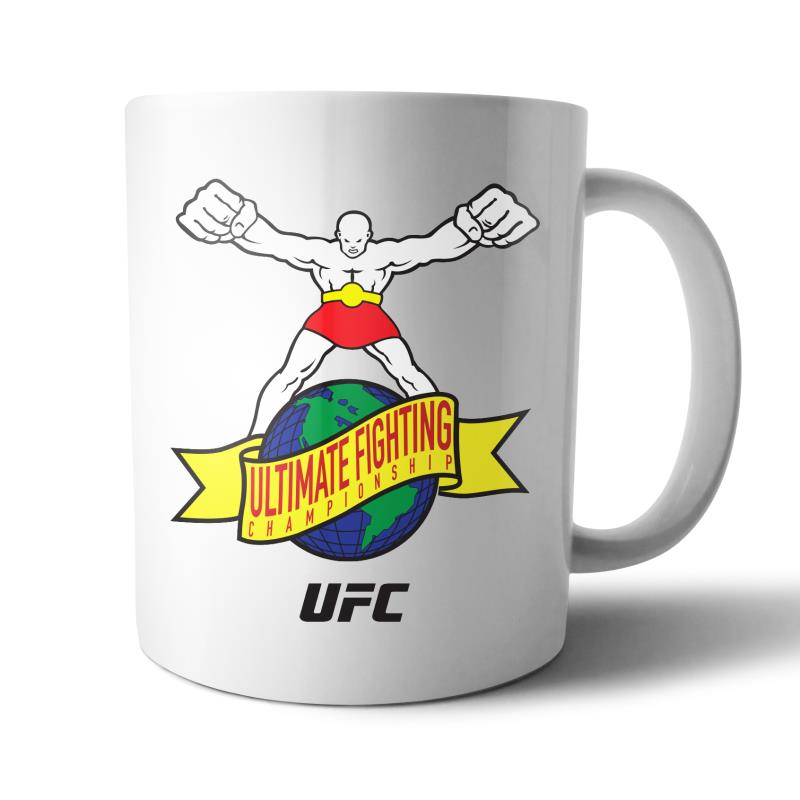 "UFC ""Ulti-Man"" Ultimate Fighting Championship Mug White"