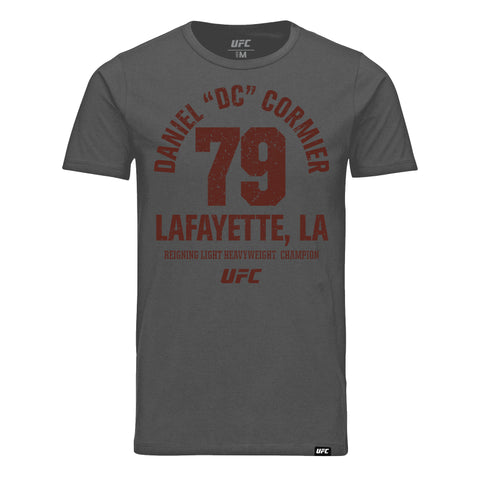 "UFC Daniel ""DC"" Cormier The Grind Doesn't Stop! Hoodie-Red"