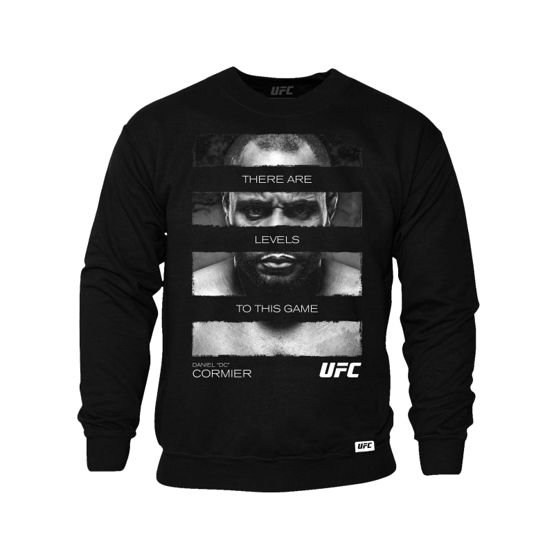 "Daniel ""DC"" Cormier There Are Levels Sweatshirt -Black"