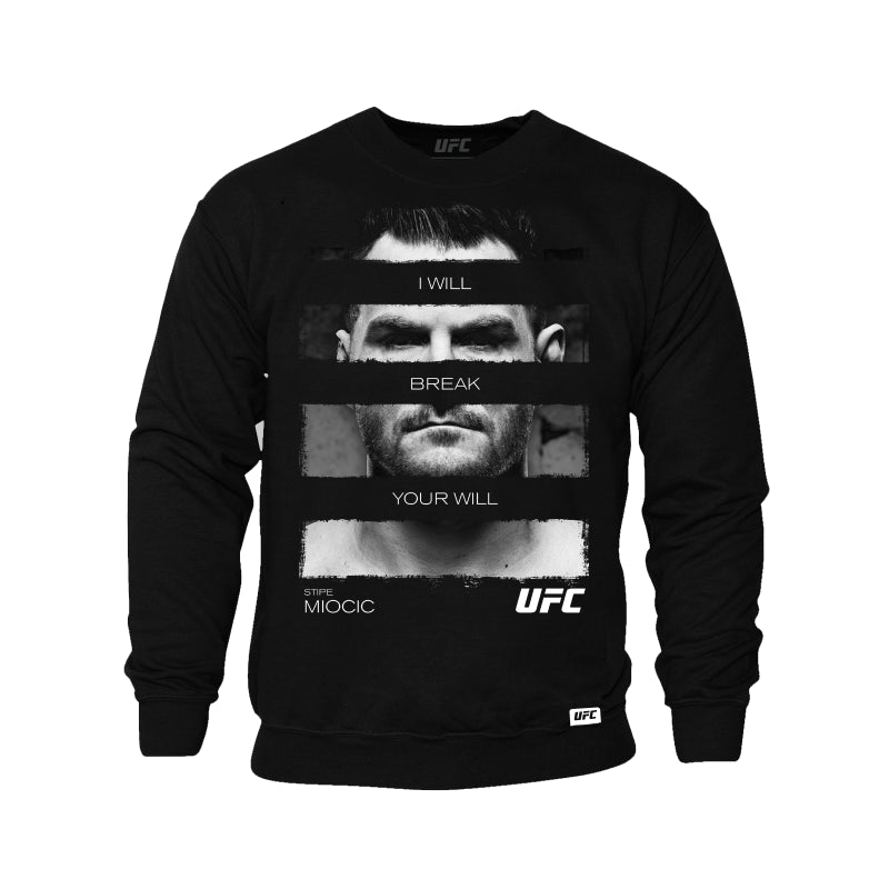 Stipe Miocic Heavyweight Quote Sweatshirt -Black