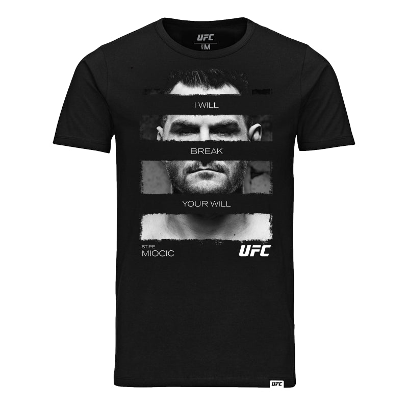 Stipe Miocic Heavyweight Quote T-Shirt -Black