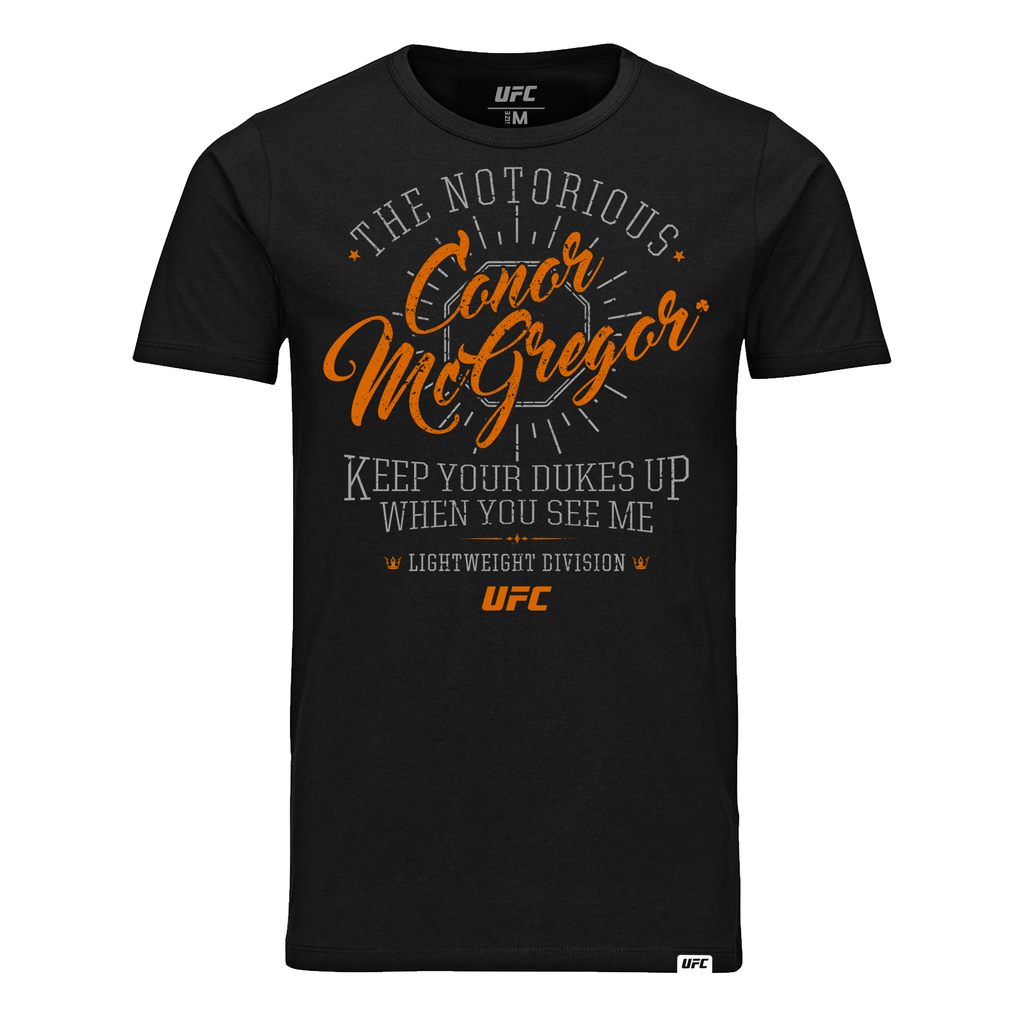 "UFC 229 Conor ""The Notorious"" McGregor Quote T-Shirt - Black"