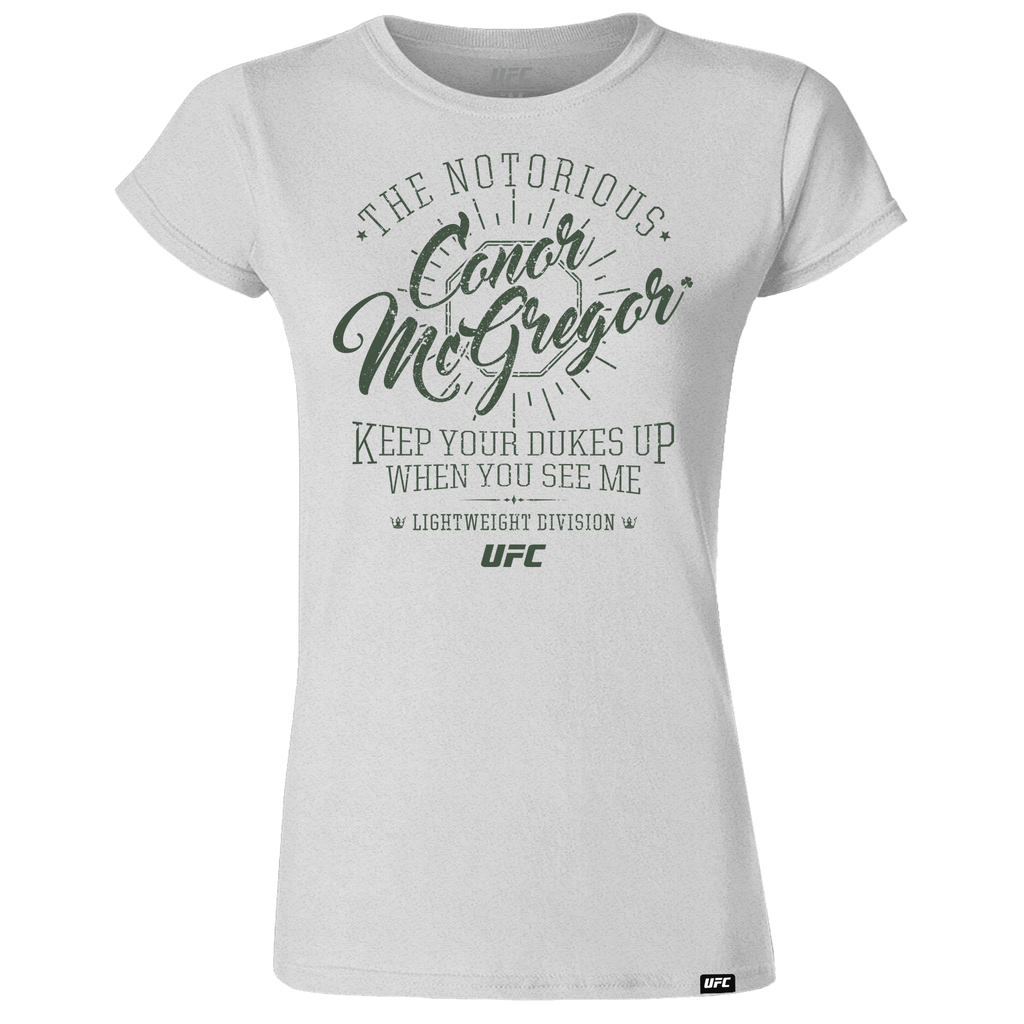 "UFC 229 Conor ""The Notorious"" McGregor Quote Women's T-Shirt - Grey"