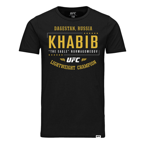 "Men's UFC Khabib ""The Eagle"" Nurmagomedov Eagle T-Shirt - White"