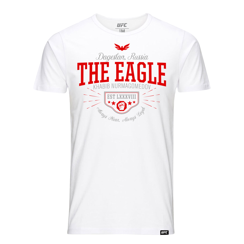 "UFC 229 Khabib ""The Eagle"" Nurmagomedov Quote Kid's T-Shirt- White"