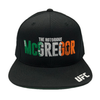 "UFC Khabib ""The Eagle"" Nurmagomedov statement 3D embroidery Snapback Cap"