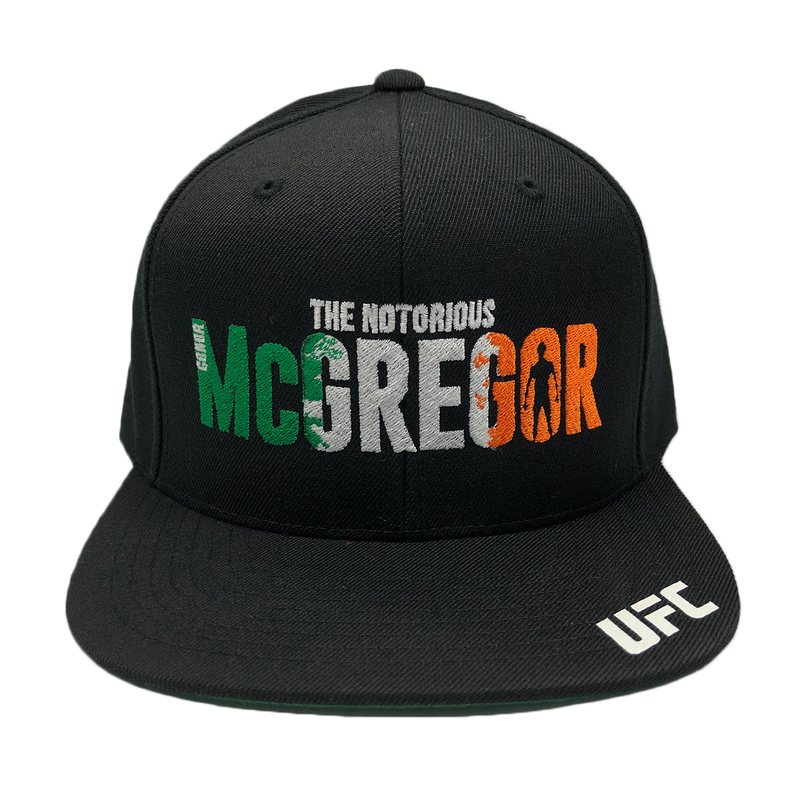 "UFC Conor ""The Notorious"" McGregor Shadow 3D embroidery Snapback Cap"