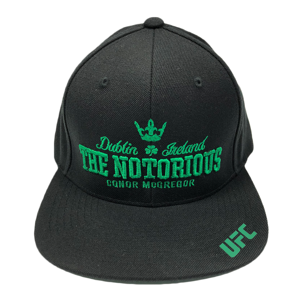 "UFC Conor ""The Notorious"" McGregor Dublin Ireland 3D embroidery Snapback Cap"