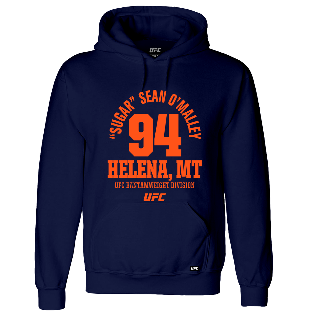 "UFC ""Sugar"" Sean O'Malley Helena, MT Est 94 Hoodie - Navy"