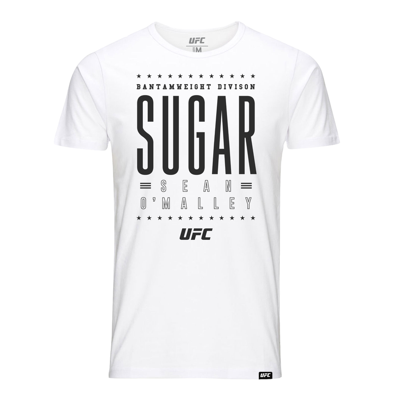 "UFC ""Sugar"" Sean O'Malley Graphic Graphic T-Shirt - White"