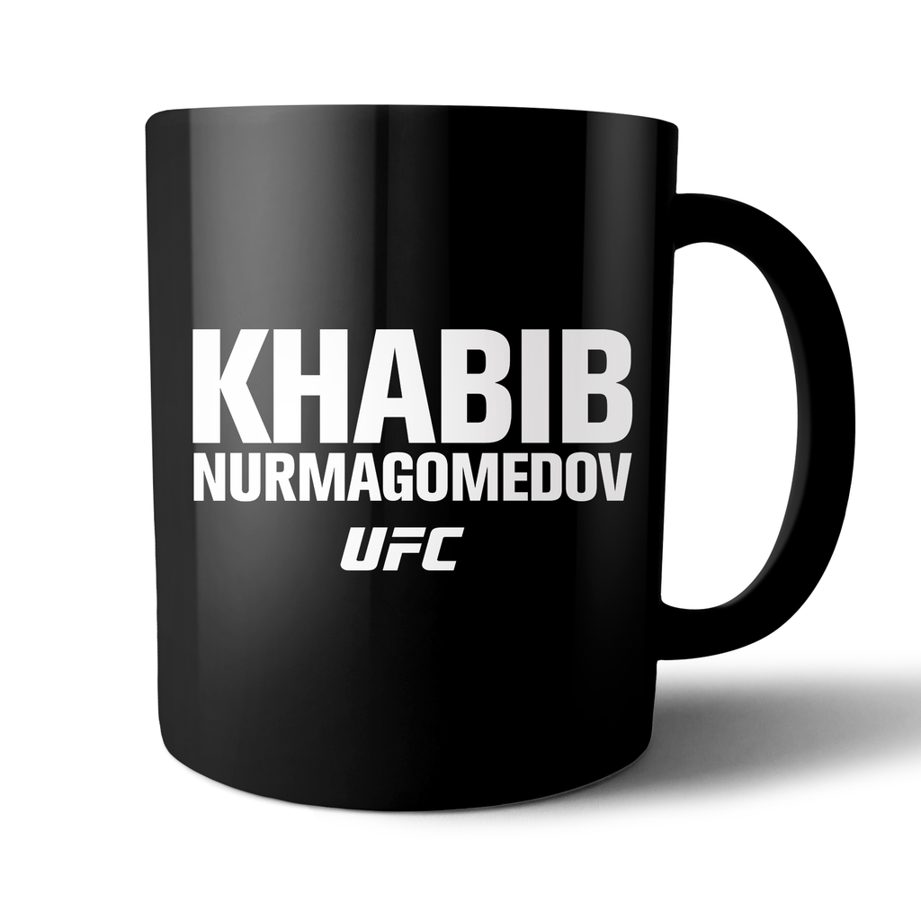 "UFC Khabib ""The Eagle"" Nurmagomedov Mug-Black"
