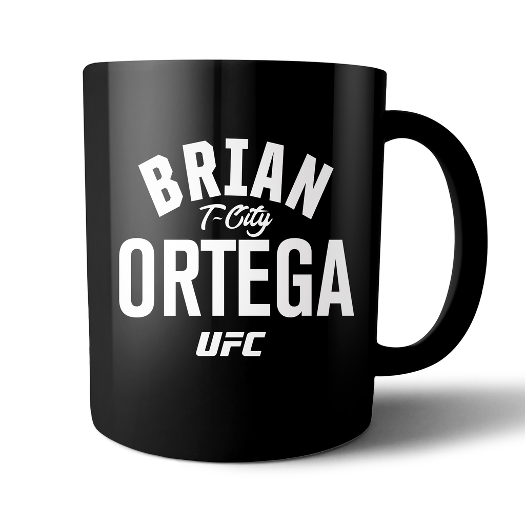 "UFC Brian ""T-City"" Ortega Statement Mug - Black"