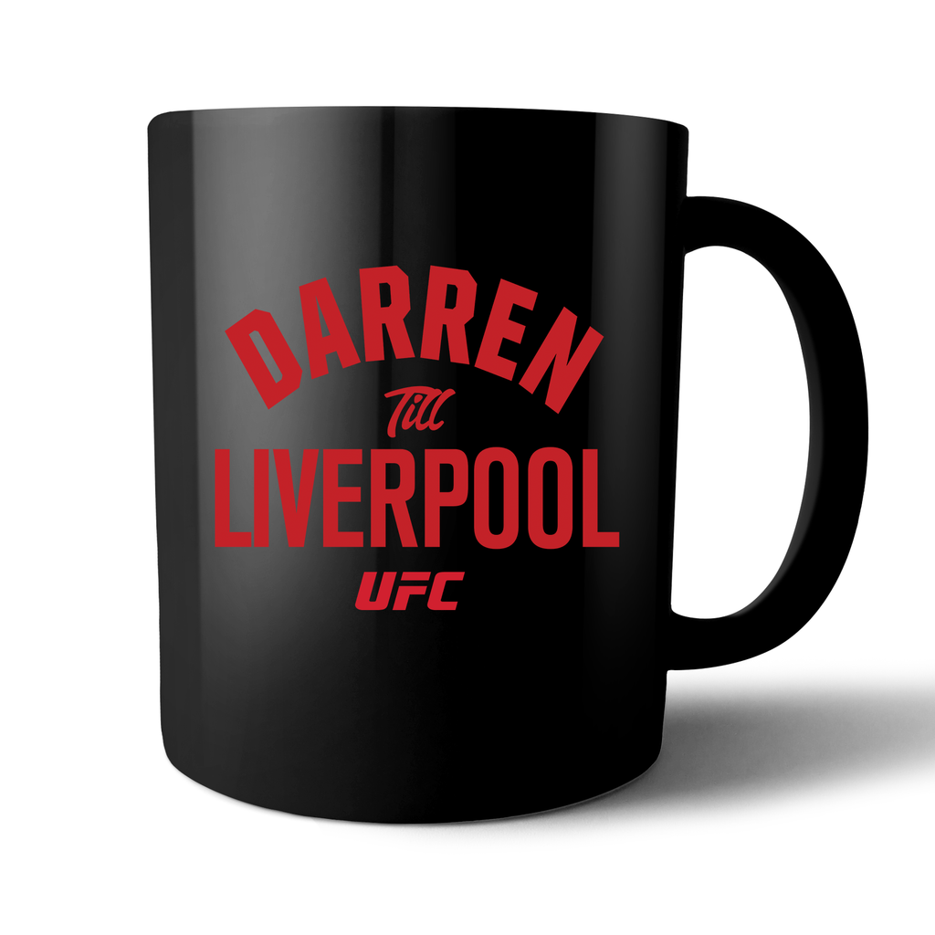 "UFC Darren ""The Gorilla""  Till Statement Mug - Black"