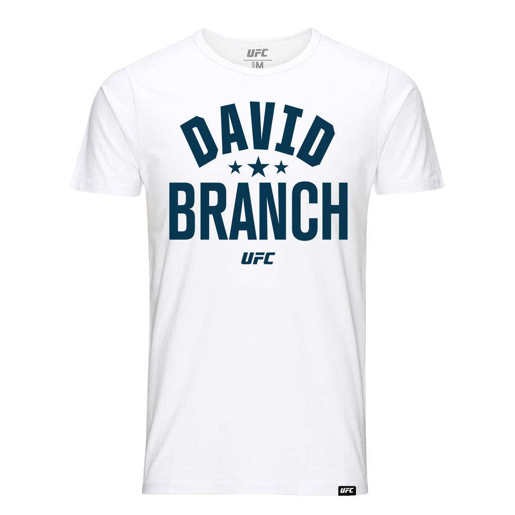 David Branch Old School T-Shirt- White