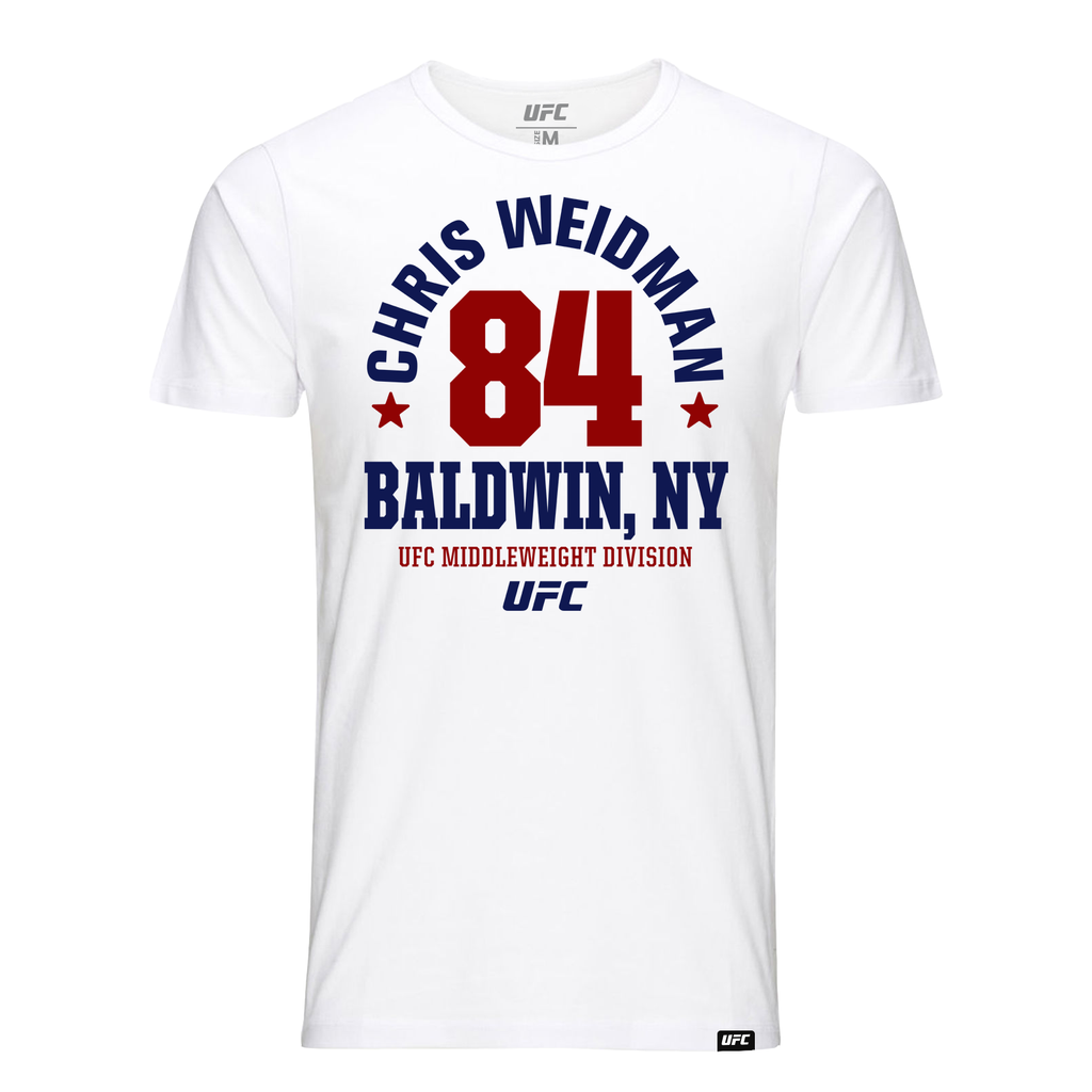 "Chris ""The All-American"" Mineola, NY Est 84 T-Shirt- White"