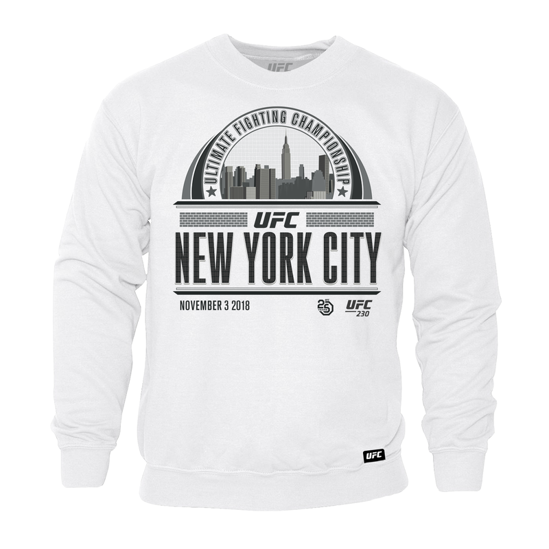 New York Graphic Skyline Sweatshirt - White