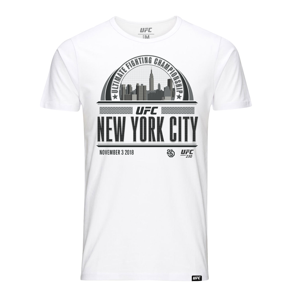 New York Graphic Skyline T-Shirt - White