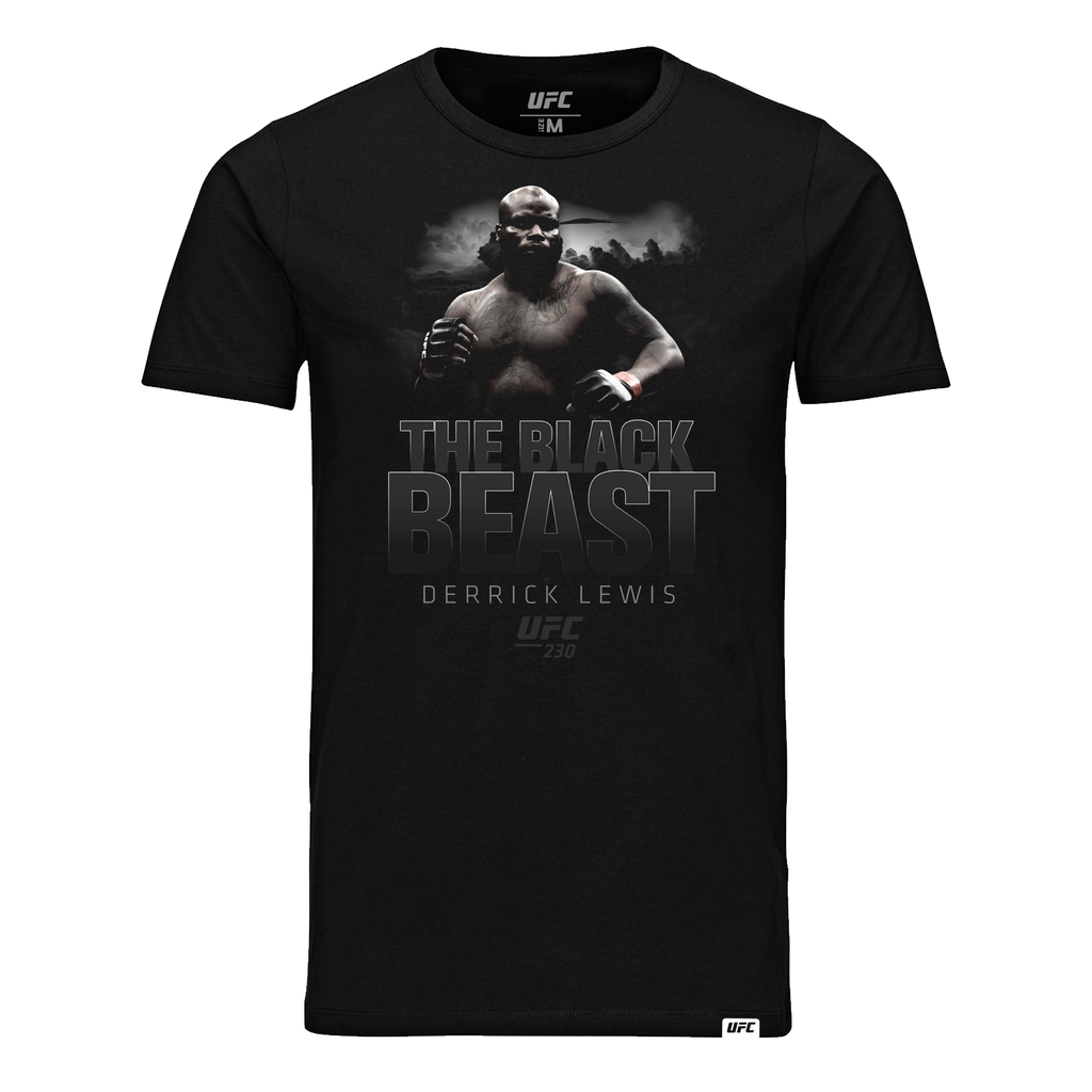 "UFC 230 Derrick ""The Black Beast"" Lewis Icon Kid's T-Shirt - Black"