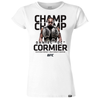 Men's Reebok Daniel Cormier Black Champion Authentic UFC Fight Night Walkout Jersey