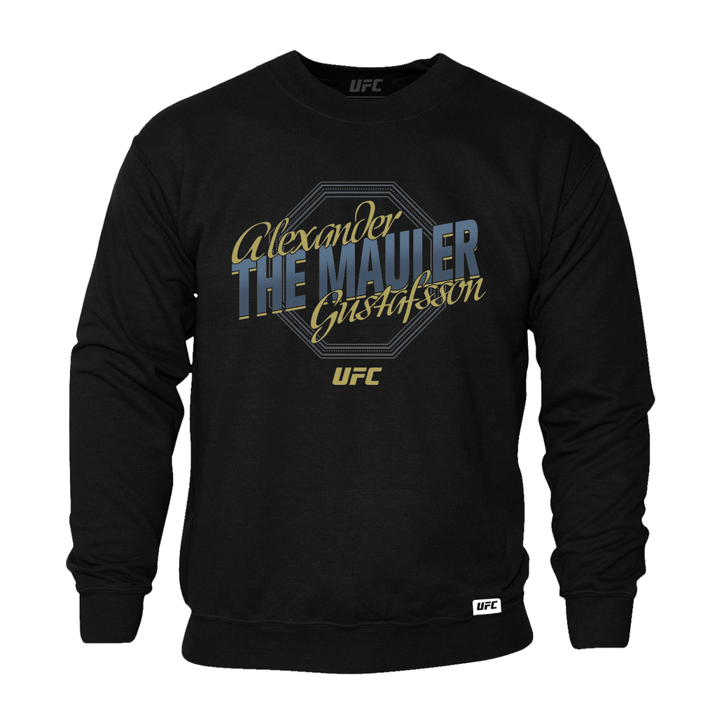 "Alexander ""The Mauler"" Gustafsson Octagon Sweatshirt- Black"