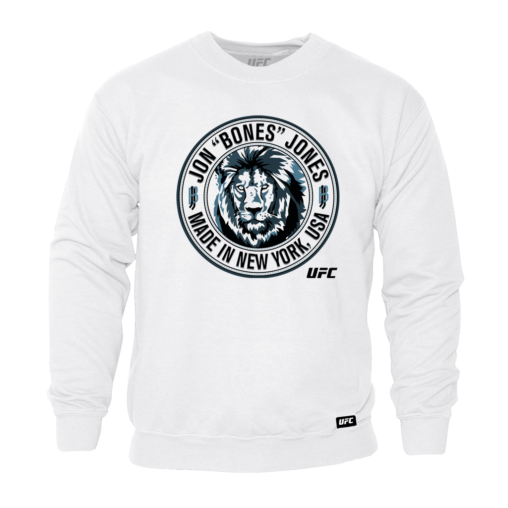 "Jon ""Bones"" Jones Made in New York Sweatshirt- White"