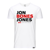 "Jon ""Bones"" Jones Shield T-Shirt- Charcoal"