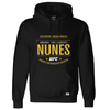 Men's Reebok Amanda Nunes Black UFC Fight Night Walkout Hoodie Replica
