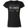 "UFC 215 UFC Amanda ""The Lioness"" Nunes Women's T-Shirt-Black"