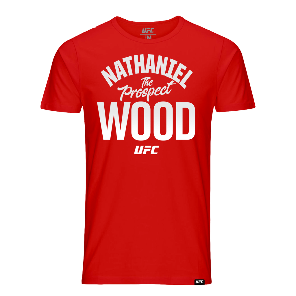 "Nathaniel ""The Prospect"" Wood Old School Tee-Red"