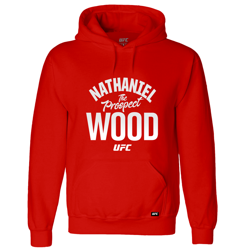 "Nathaniel ""The Prospect"" Wood Old School Hoodie-Red"