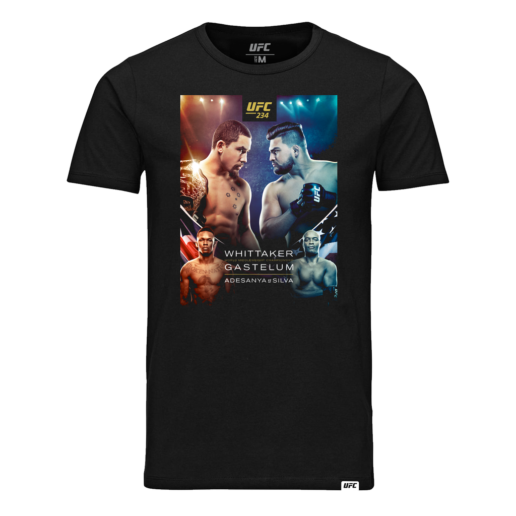 Kid's UFC 234 Whittaker vs Gastelum Event  T-Shirt-Black