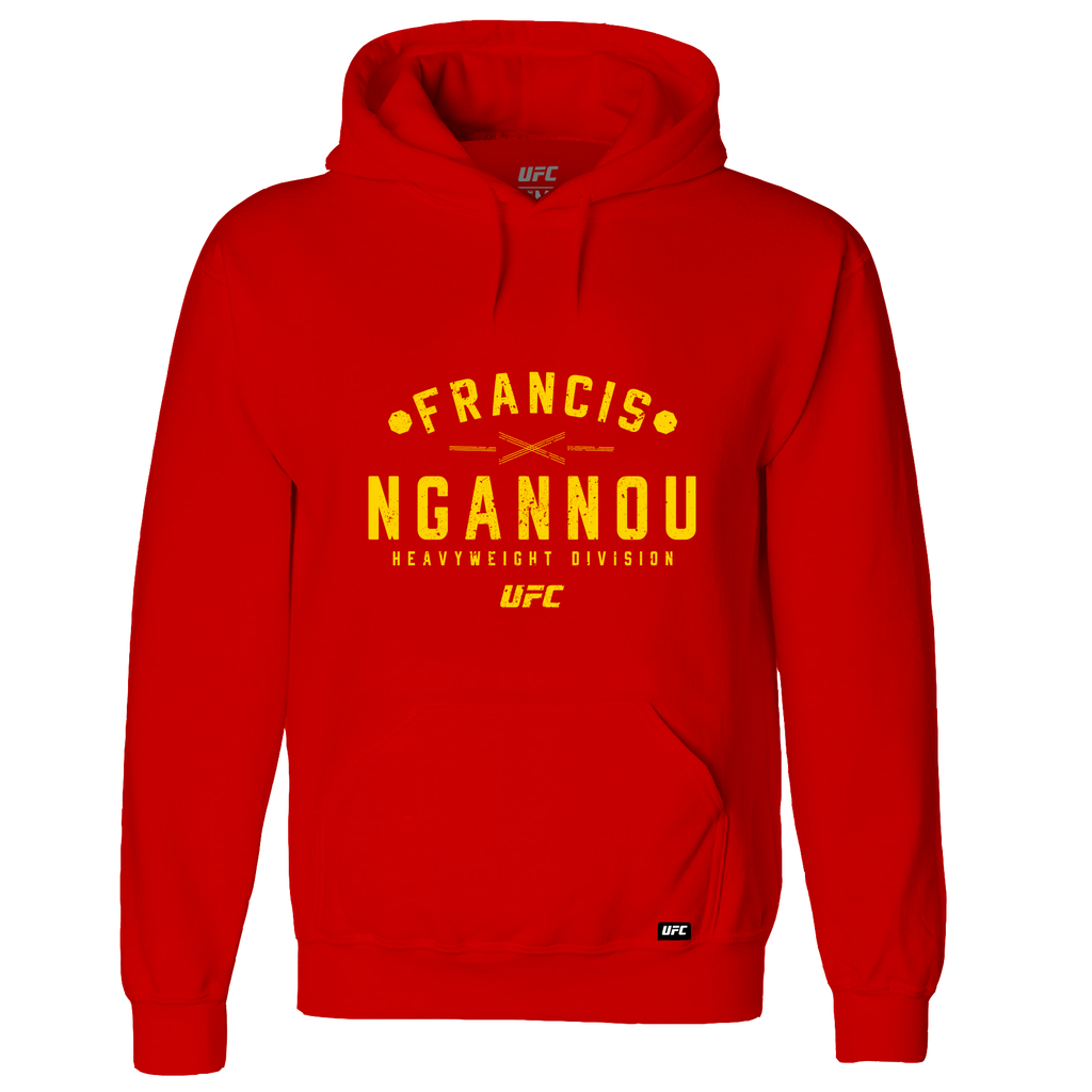 Men's Francis Ngannou Graphic Hoodie -Red