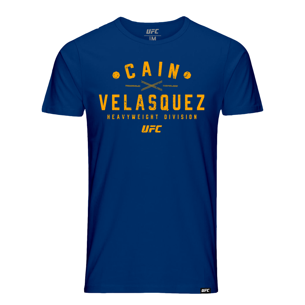 Men's Cain Velasquez Graphic UFC T-Shirt- Navy