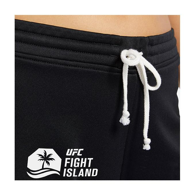 Women's UFC Reebok Fight Island Shorts - Black