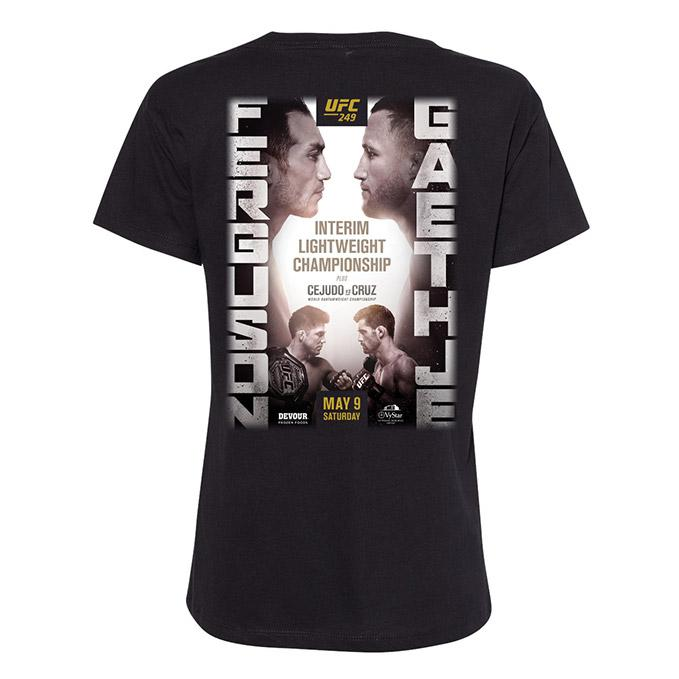 Women's UFC 249 Ferguson vs Gaethje Event T-Shirt
