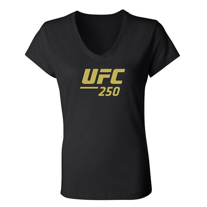 Women's UFC 250 Nunes vs Spencer Event T-Shirt - Black
