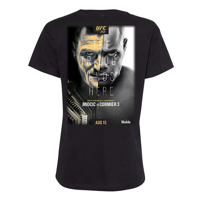 Women's UFC 252 Event T-Shirt - Black