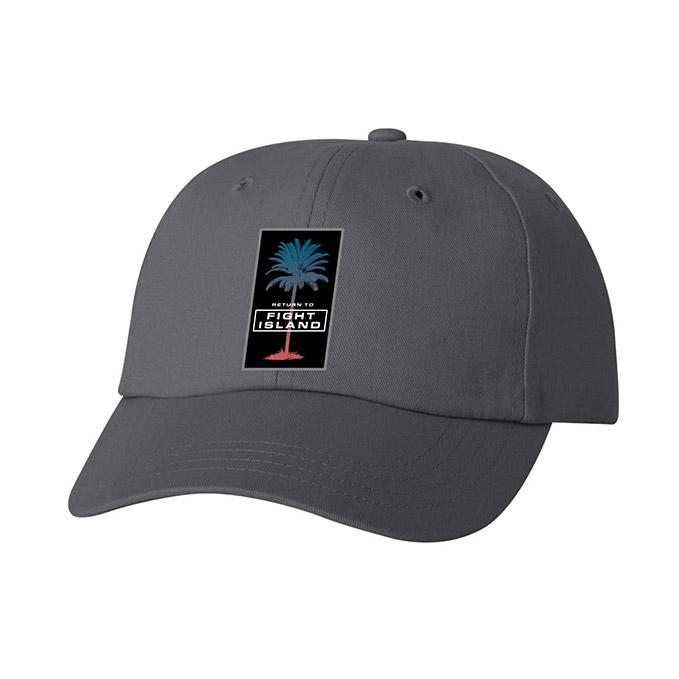 UFC Fight Island Octopalm Cap - Charcoal